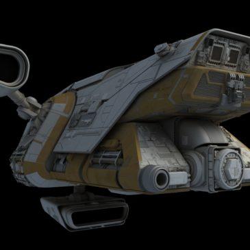 Preying Mantis Patrol Ship WIP #5