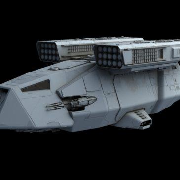 Stormtrooper Transport WIP#3