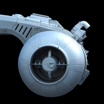 Mandalorian Starfighter WIP#2