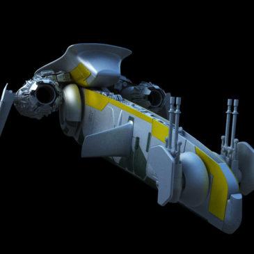 Mandalorian Starfighter WIP#3