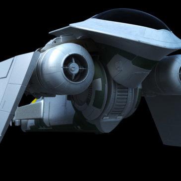 Mandalorian Starfighter WIP#4