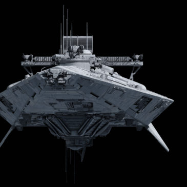 Indictor-class electronic warfare Star Corvette 4k