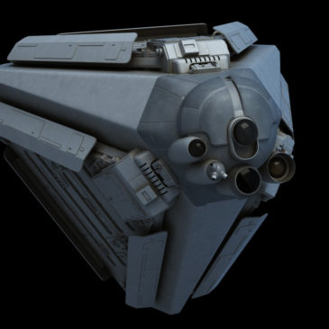 Probe ship WIP#1