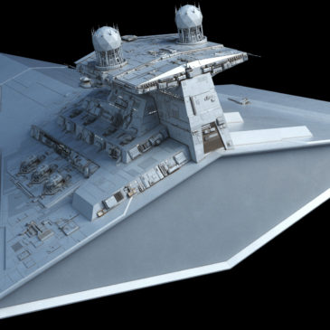 Victory-class Star Destroyer WIP#10