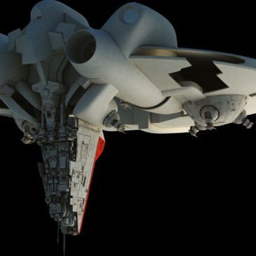 Inexpugnable-class Command Ship WIP#3