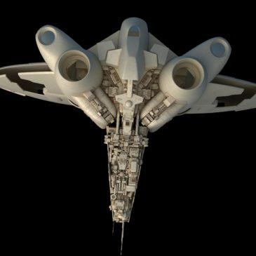 Inexpugnable-class Command Ship WIP#4
