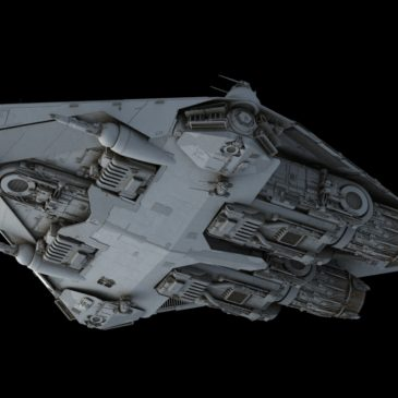 Light corvette WIP#3