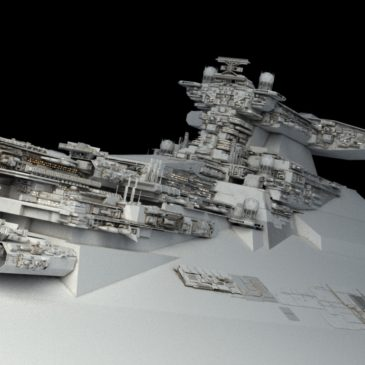 Star Battlecruiser WIP#1