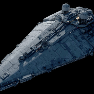Fulgor-class pursuit frigate 4k