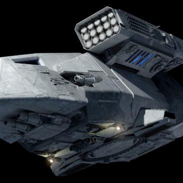 Stormtrooper Transport 4k
