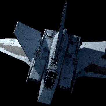 XG1 StarWing Assault Gunboat 4k