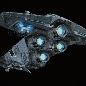 Storm Commando Ship WIP#6